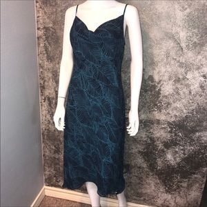 Sale EXPRESS Ocean/beach palm leaf leaves dress 7